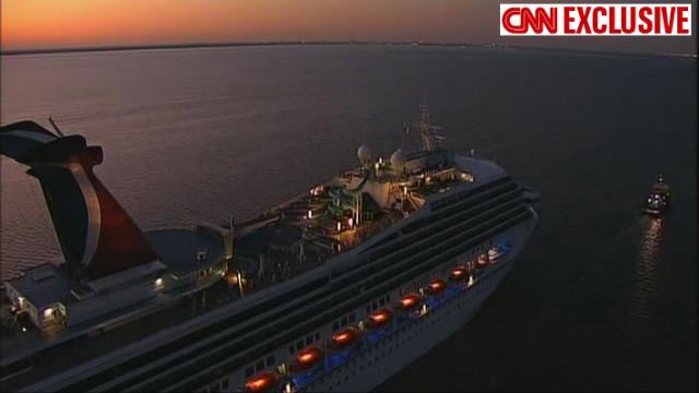 Video of smoke on ship