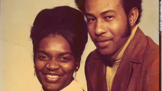 Tenisha Taylor Bell's mother and father, Velma and Ezekiel Taylor.
