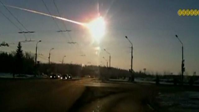 Meteor sonic boom shocks Russia