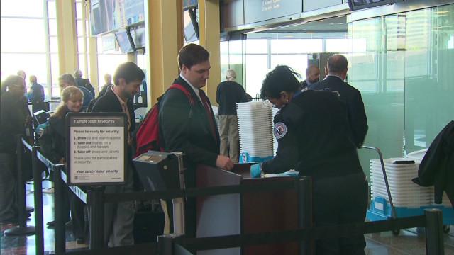 TSA cuts: Longer airport security lines