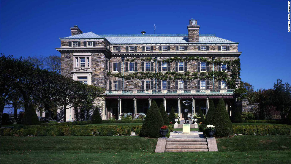 "Four generations of the Rockefeller family lived at Kykuit (which means ""lookout"" in Dutch), starting with Standard Oil founder John D. Rockefeller."