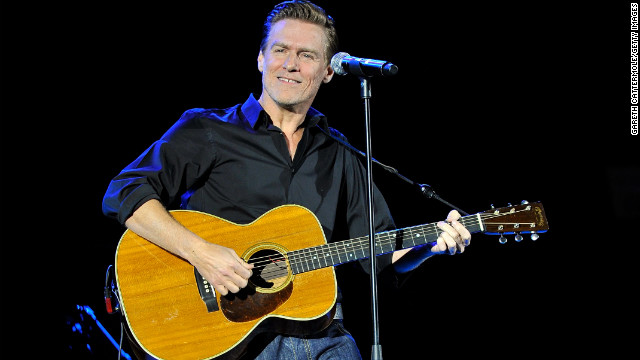 Bryan Adams performs in London in 2011.