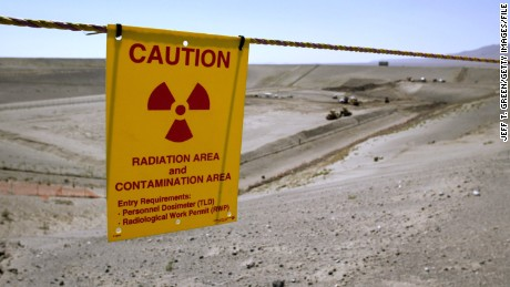 Radioactive contamination found on Hanford worker's clothes