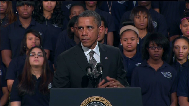 Obama: Laws alone won't stop gun deaths