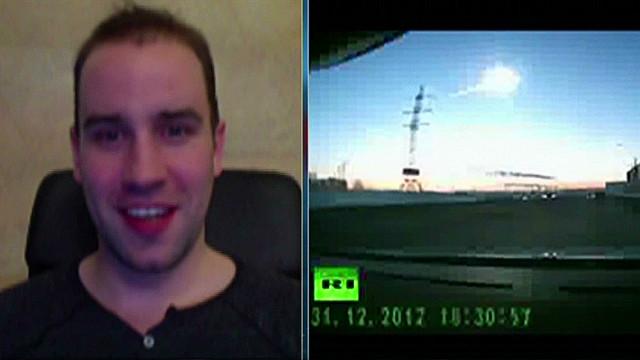 Witness: Meteor explosion 'terrifying'
