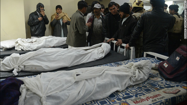 Militants claimed responsibility for a February 16 suicide bombing at a crowded marketplace in Quetta that killed at least 89 people.