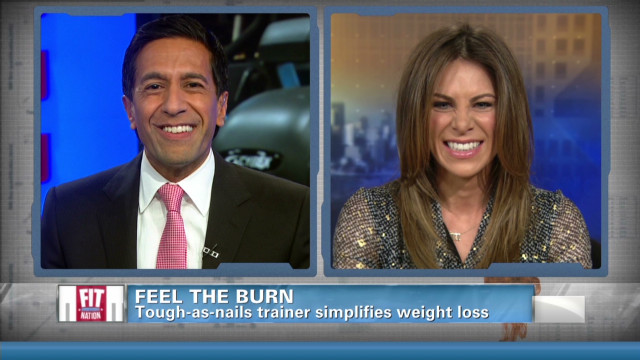 Feeling the burn with Jillian Michaels