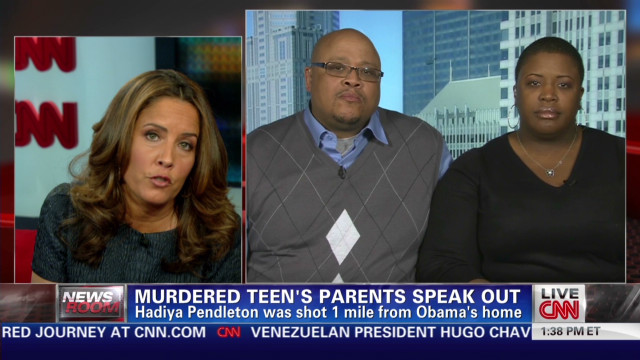 Hadiya Pendleton's parents speak out
