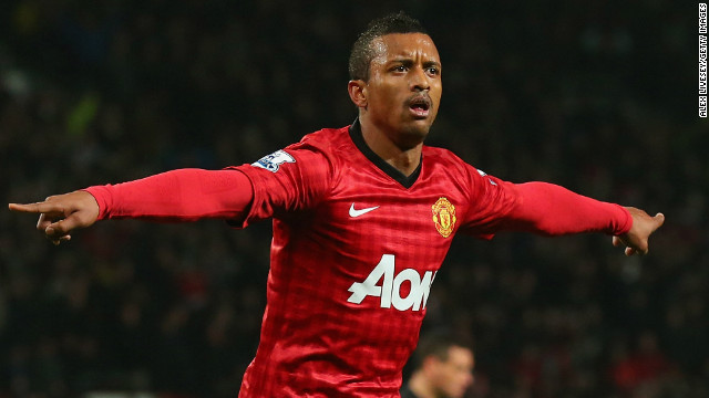 Nani was on target as Manchester United moved into the quarterfinals of the FA Cup