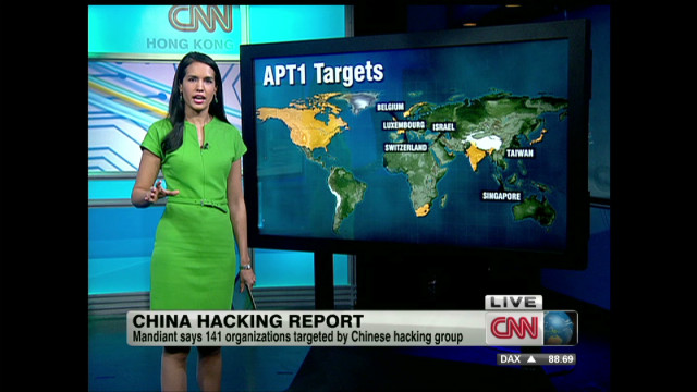 Tracking hacking to China