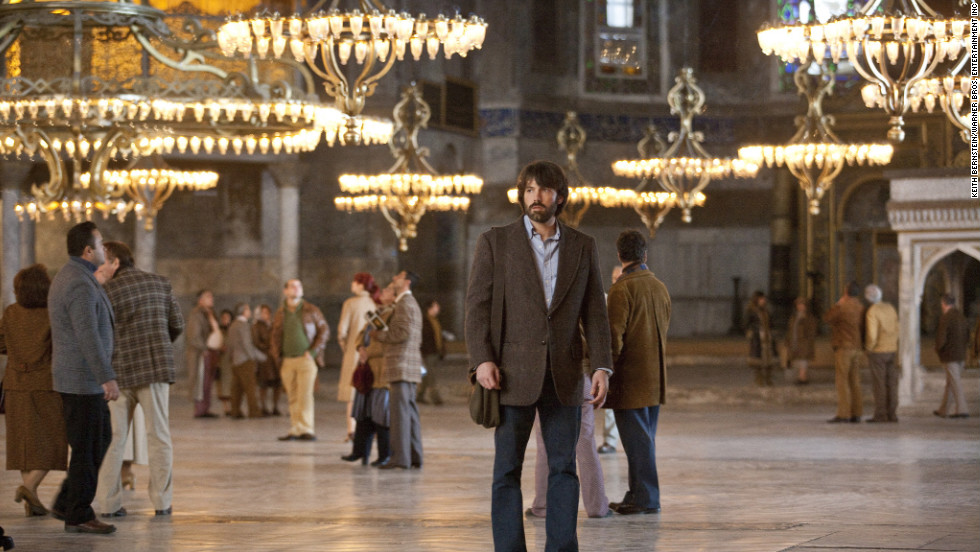 "The Oscar nominees for best picture take moviegoers all over the world -- such as Istanbul's Hagia Sophia, where ""Argo"" had a scene. Indeed, while much of ""Argo"" is set in Iran, filming for many of its scenes took place in Turkey. Locations in and around Washington also appear in the film directed by and starring Ben Affleck."