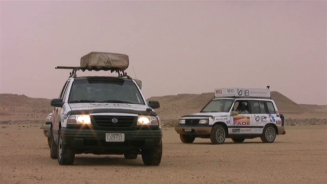 Sahara explorer: I surrendered to death