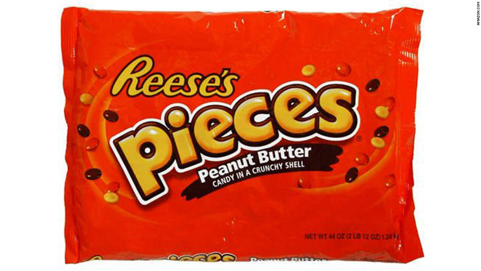 "<strong>Worst peanut-butter candy: Reese's Pieces, 4-ounce box </strong><br />Their slightly bigger box and colorful candy coating make Reese's Pieces the loser in this category: One package contains 600 calories, 27 grams of fat (21 saturated), and 63 grams sugar. <br /><br />And while the nutritional label lists zero trans fats, the ingredient list still contains partially hydrogenated vegetable oils -- which means that trans fats are present in quantities under half a gram per serving. With three servings per box, you could be chowing down on a significant amount of this artery-clogging ingredient.<br /><br />""Serving sizes on food labels are determined by the manufacturer,"" says Kriegler. ""Decide how much you are actually going to eat, and then figure out what that means for you, nutritionally."""