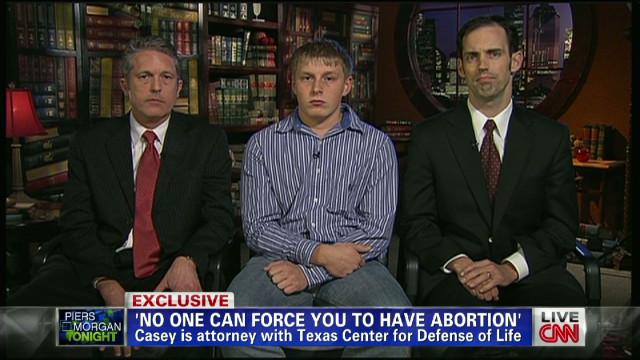 Texas teen talks abortion