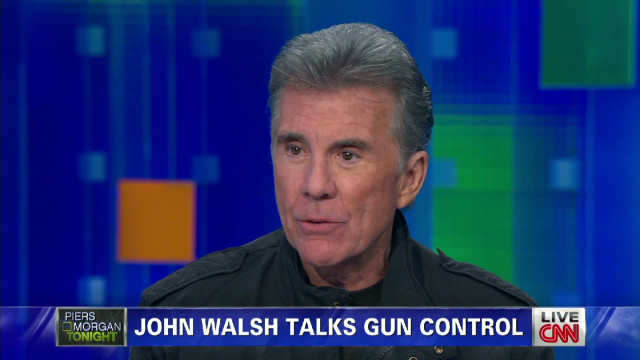John Walsh on gun control