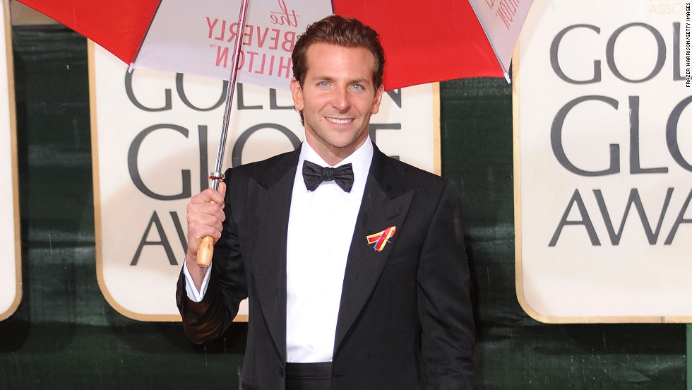 "Cooper hit A-list status after starring in 2009's ""The Hangover."" The actor, 38, pictured here at the 2010 Golden Globe Awards, earned the title of People's Sexiest Man Alive in 2011."