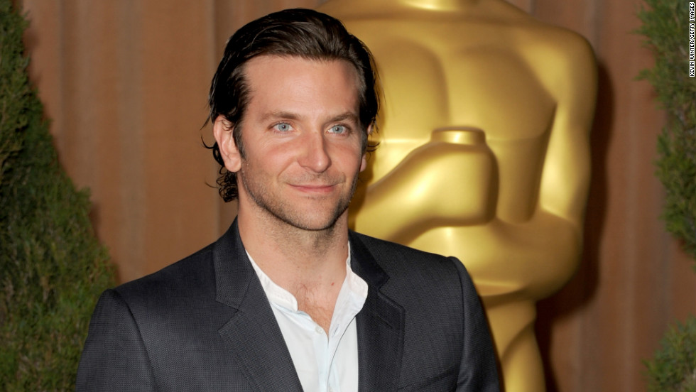 "Cooper's role as Pat in ""Silver Linings Playbook"" earned him his first Oscar nomination. He'll soon appear in ""The Hangover Part III"" and ""Serena,"" along with his ""Playbook"" co-star Jennifer Lawrence."