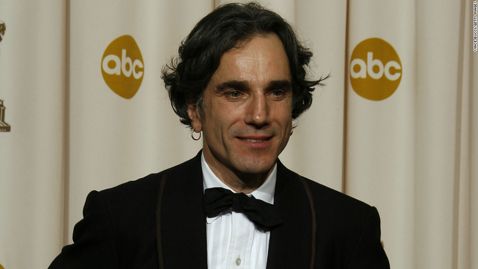 "Day-Lewis, 55, is known for his method acting. Shown here at the 2008 Academy Awards, the actor has starred in film such as ""The Last of the Mohicans,"" ""The Crucible"" and ""Gangs of New York."""