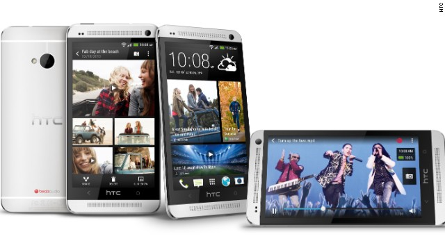 "The HTC One, unveiled on Tuesday, has a 4.7-inch display screen, runs Android and has a souped-up ""UltraPixel"" camera."