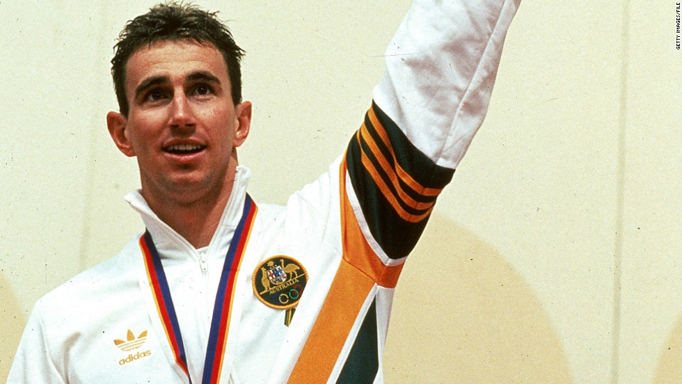 Duncan Armstrong was Australia's only swimming gold medalist at the 1988 Olympic Games in Seoul, South Korea.