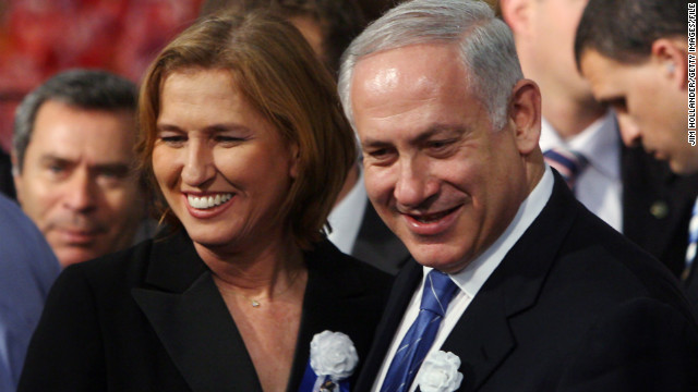 Tzipi Livni and Benjamin Netanyahu are forging a new political partnership in Israel.