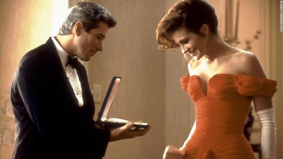 Roberts' character, a prostitute with a big heart, wins over the hotel's staff -- and Richard Gere's character -- during her stay.