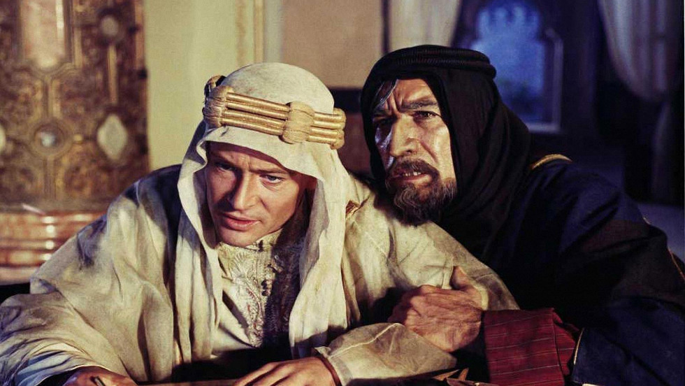 """Lawrence of Arabia"" tells the story of British military figure T.E. Lawrence's World War I exploits."