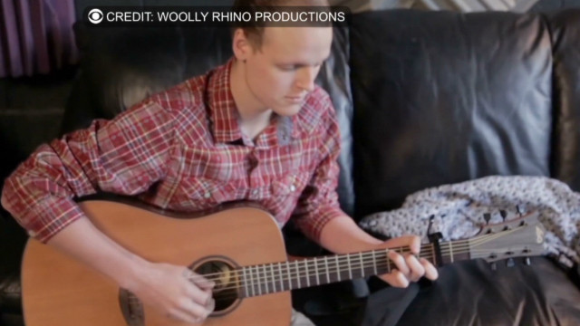 Teen with cancer records 'goodbye' song