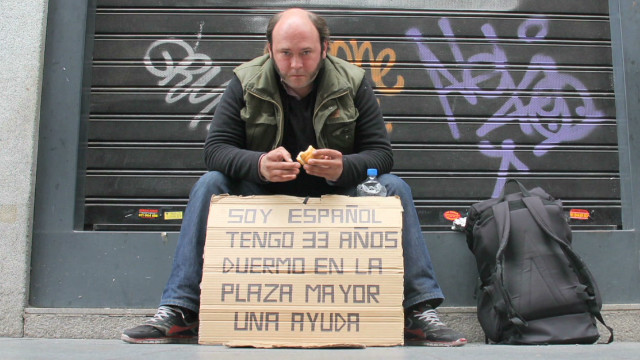 Desperate situation for Spain's homeless
