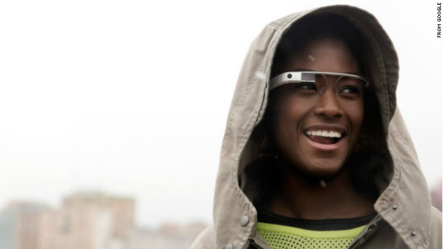 Code in the software for Google's Glass eyewear suggests users will be able to snap photos with a wink of an eye.