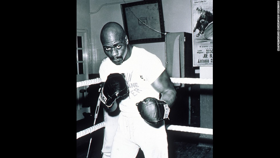 "Middleweight boxer <a href=""http://www.cnn.com/2011/CRIME/02/26/rubin.hurricane.carter.book/index.html"" target=""_blank"">Rubin Carter</a>, known as ""Hurricane"" in the ring, served 18 years in prison for a triple homicide in a bar in 1966. A federal judge overturned his sentence and that of his alleged  accomplice, John Artis, in 1985, ruling that the conviction was based on ""racial stereotypes, fears and prejudices."""
