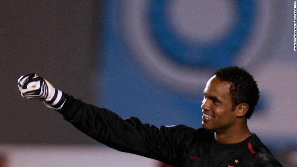 "<a href=""http://www.cnn.com/2013/03/08/sport/brazil-goalkeeper-conviction/index.html"" target=""_blank"">Bruno Fernandes das Dores de Souza</a>, a former goalie for the Brazilian soccer club Flamengo, was convicted in March 2013 for the murder of his ex-girlfriend. He was sentenced to 22 years and three months for the murder of Eliza Samudio, who  disappeared in 2010. Souza, his current girlfriend  and his ex-wife were among nine people charged with torturing and murdering Samudio, who had been trying to prove Souza had fathered her son."