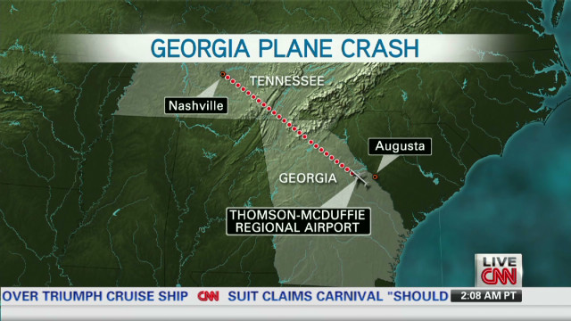 Georgia plane crash kills five