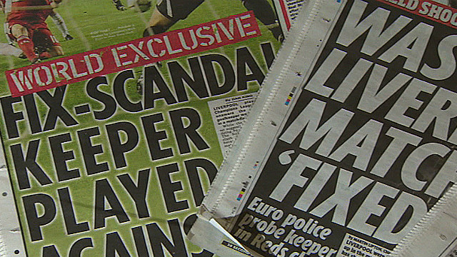 Match-fixing suspect turns himself in