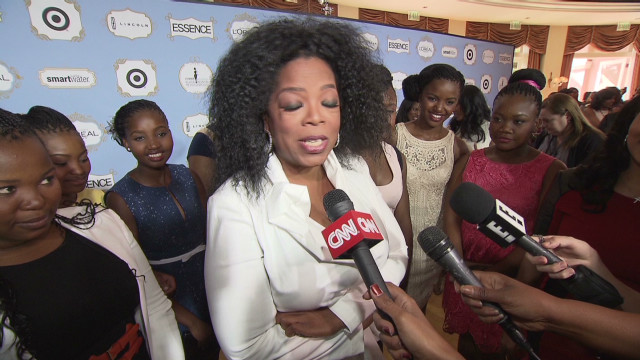 Oprah on where she'll watch the Oscars