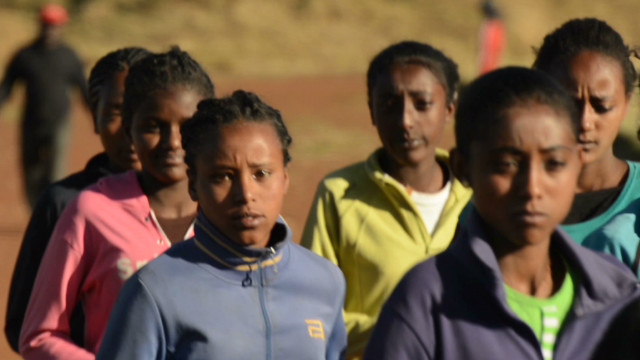 Coach grooms Ethiopia's running talent