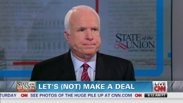 McCain: Obama must lead on budget deal