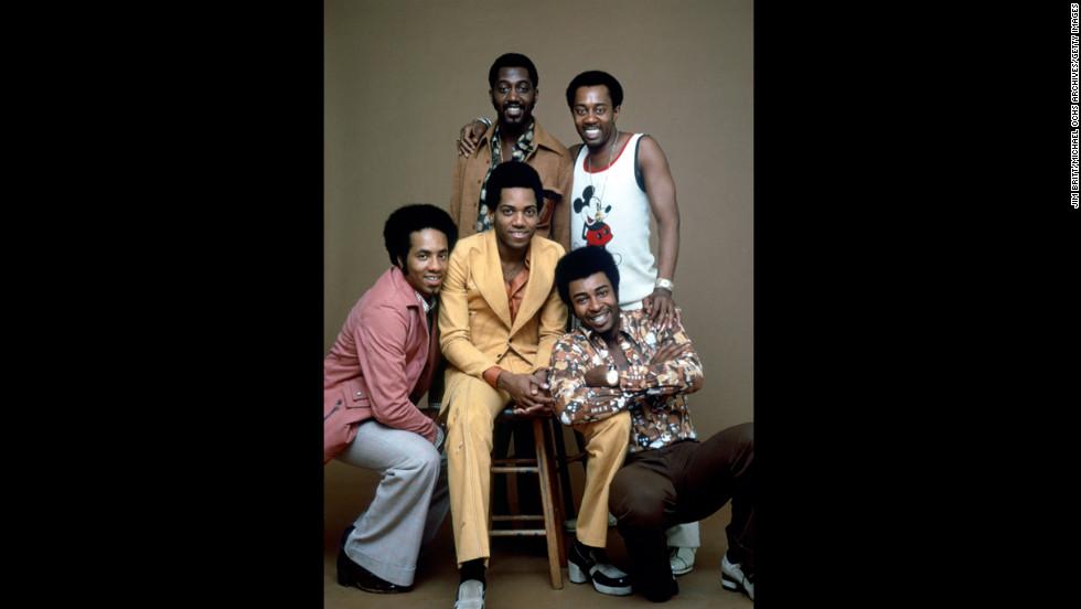 "<a href=""http://us.cnn.com/2013/02/24/showbiz/damon-harris-obit/index.html?hpt=hp_t2"">Damon Harris</a>, former member of the Motown group the Temptations, died at age 62 on February 18. Harris, center on the stool, poses for a portrait with fellow members of The Temptations circa 1974."