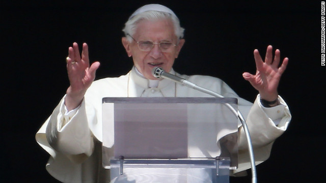 The final days of Benedict's papacy