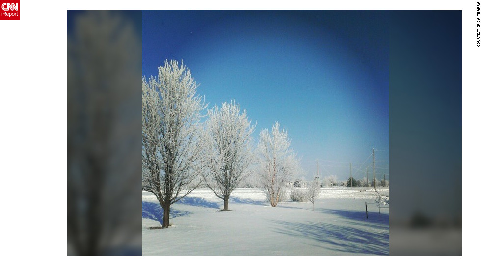 "<a href=""http://ireport.cnn.com/docs/DOC-932420"" target=""_blank"">Erica Ybarra</a> captured this photo using Instagram from her front yard near Bentley, Kansas"