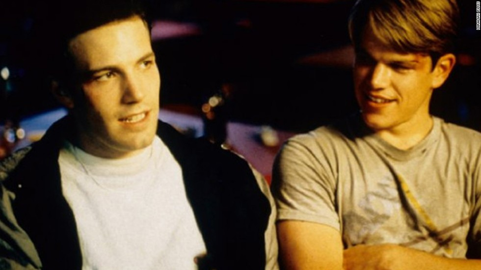 "Ben Affleck, left, and Matt Damon are friends on- and off-screen. They've worked together on films such as 1997's ""Good Will Hunting"" and 2004's ""Jersey Girl."""