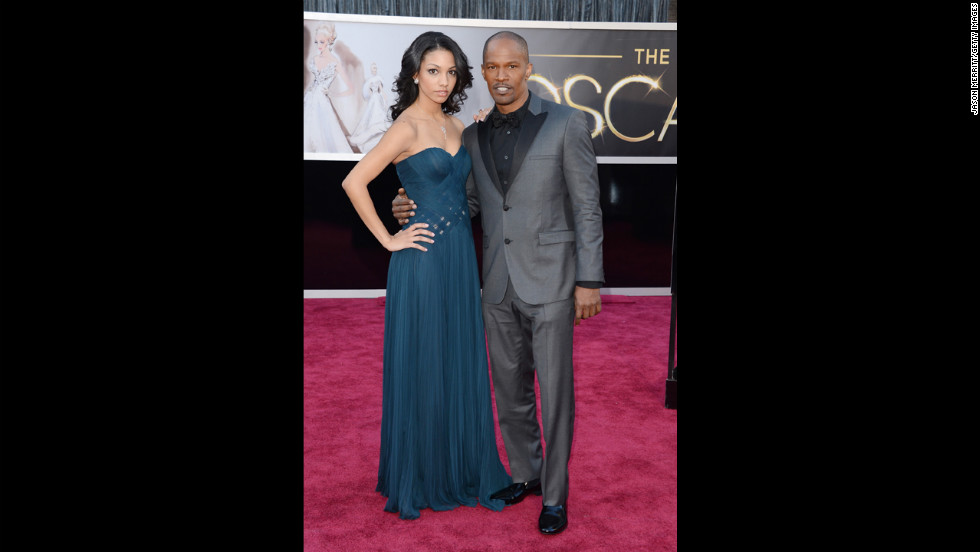 Jamie Foxx and daughter Corinne Bishop