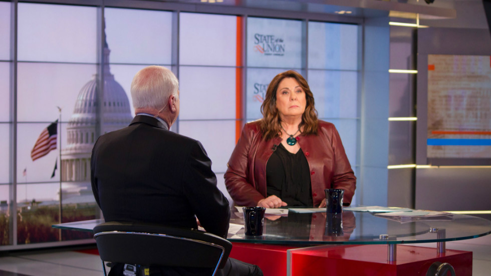 Sen. John McCain and CNN's Candy Crowley