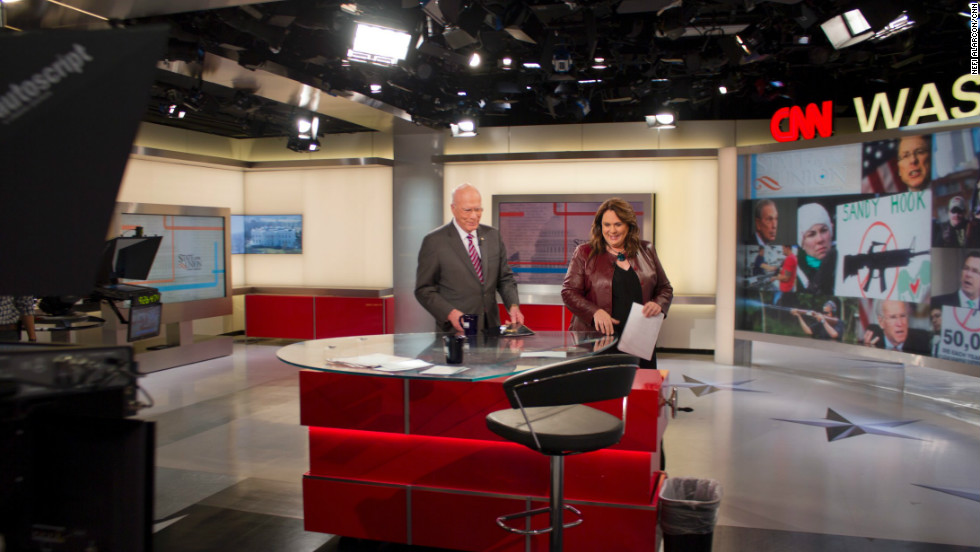 Sen. Patrick Leahy and CNN's Candy Crowley