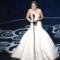 oscar photos Jennifer Lawrence accepts award