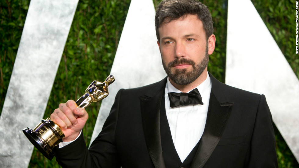 Ben Affleck at the 2013 Vanity Fair Oscar party.