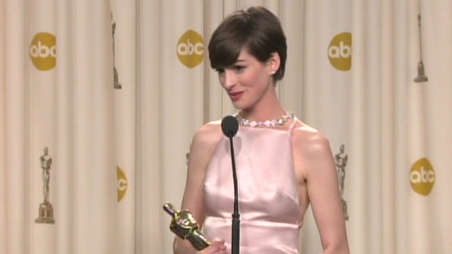 Hathaway: My Oscar dream came true
