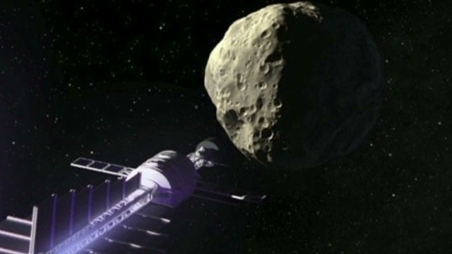 NASA has plan for big asteroids