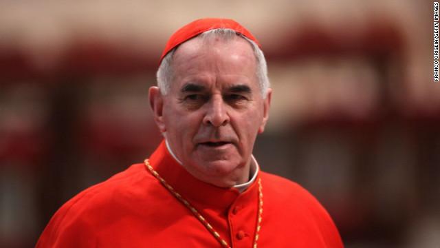 Cardinal admits sexual misconduct
