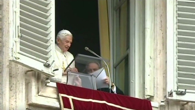 Vatican scandal before pope resigns